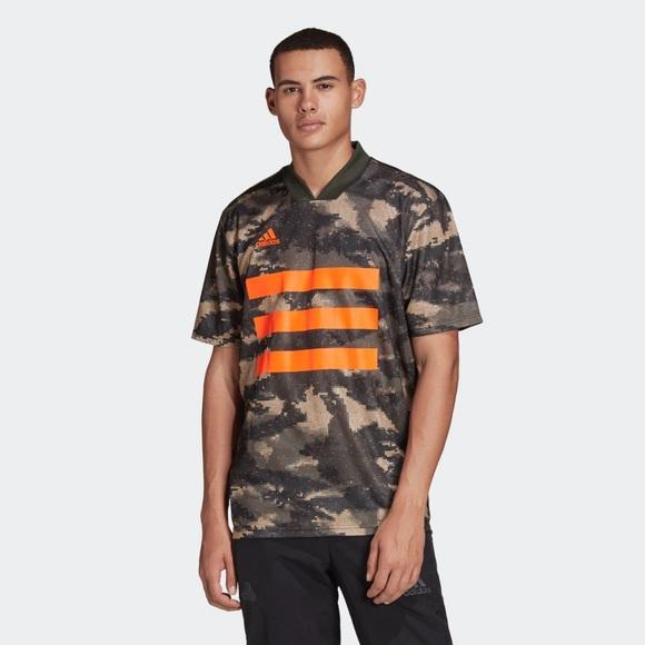 adidas Shirts   Adidas Mens Camo Jersey   Poshmark